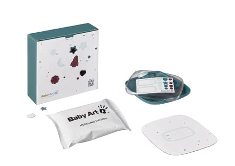 Baby Art Hello Baby Treasure – Plaster Cast Set -  * Captured in the cute storage box, the plaster cast of your little one's foot or hand will always remind you of this precious time.