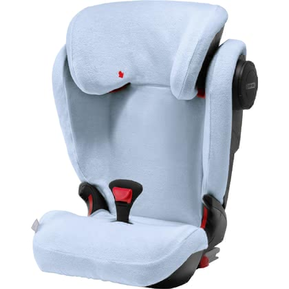 Britax Römer Summer Cover for Child Car Seat Kidfix III -  * The Briztax Römer summer cover is an absolute must-have accessory for hot summer days. The soft and fluffy cover absorbs heat particularly well and thus prevents your child from perspiring too quickly.