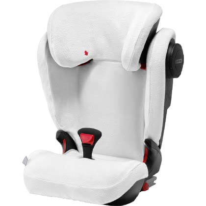 Britax Römer Summer Cover for Child Car Seat Kidfix III M -  * The Briztax Römer summer cover is an absolute must-have accessory for hot summer days. The soft and fluffy cover absorbs heat particularly well and thus prevents your child from perspiring too quickly.