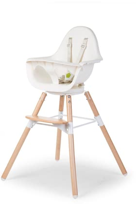 Childhome寶寶餐椅Evolu ONE.80 帶有可旋轉座椅 -  * By simply turning the high chair Evolu ONE.80, you can easily change your child's perspective.