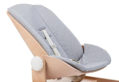 Childhome嬰兒搖椅躺椅Woodrock座椅內墊Jersey -  * Having the super soft seat cushion Jersey in your baby bouncer Woodrock will provide your little one with even more comfort and cosiness.