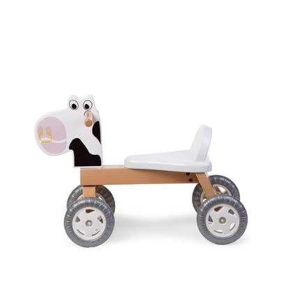 Childhome 滑行車 -  * With this amazing toy ultimate riding fun is guaranteed! Finally, things get moving! Your little discoverer will now conquer your home with some animal help.