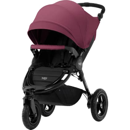 Britax Römer Pushchair B-Motion 3 Plus including Canopy Pack Wine Red 2018 - 大圖像