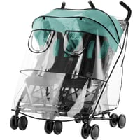 Britax Römer寶得適妙行雙胞胎Holiday Double推車雨罩 -  * The Britax Römer rain cover stands out as the ideal protection for your child when being out and about with the buggy Holiday Double in bad weather.