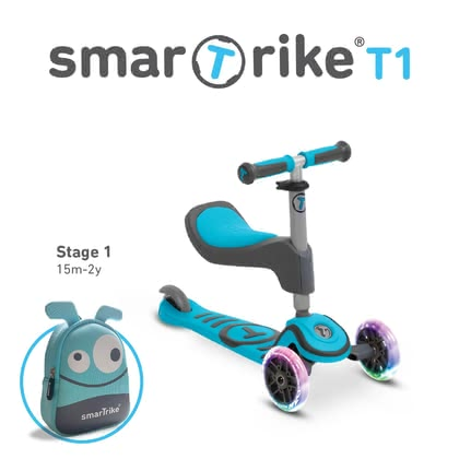 smarTrike 滑板車 T1 -  * The perfect vehicle from the beginner to the scooter master!
