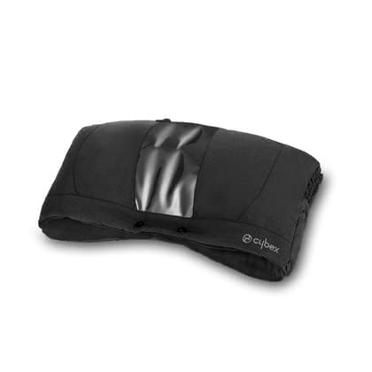 Cybex賽百斯暖手袋 -  * The Cybex hand warmer is suitable for being attached to all buggies and stroller with a continuous push bar. That way, you can keep your hands cosy and warm in wind, snow and cold weather.