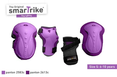 SmarTrike safeTogo安全防護套裝 -  * Having fun and playing outdoors often means stumbling, falling over and the like – especially when children are still very young. That is why, it is important that your little adventurer has a proper protection equipment.