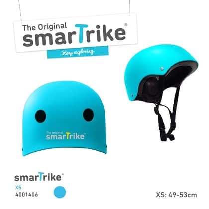 SmarTrike安全頭盔 -  * When your tiny human is out and having fun while skating, riding their bike or scooter, it is super important for them to be provided with proper safety equipment. A kids' bike helmet is the major means to protect your little one from dangerous head injuries.