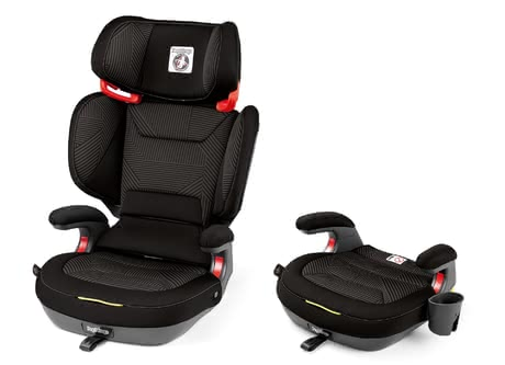 Peg-Perego Child Car Seat Viaggio 2-3 Shuttle Plus -  * The Viaggio 2-3 Shuttle Plus features a unique function: After removing its backrest, you can use it as a booster seat for later on.