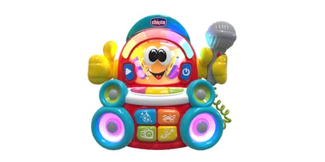 Chicco音樂玩具DJ 卡拉ok -  * What a fun musical toy – Chicco's DJ Karaoke transforms your voice into a song!