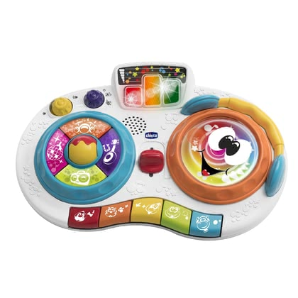 Chicco音樂玩具DJ打碟 -  * With Chicco's fun musical toy DJ Scratchy your child will become the star on his very own stage.