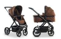 Moon Multi-Functional Stroller including Aluminium Carrycot -  * Large agile, all-terrain wheels as well as the extra-spacious aluminium comfort carrycot for an even longer service life definitely speak for the sporty Scala.