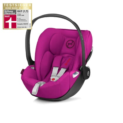 Cybex Platinum 嬰兒提籃 Cloud Z i-Size -  * With a weight loss of 15%, the Cybex infant car seat Cloud Z i-Size is significantly lighter than its predecessor Cloud Q i-Size. It provides you and your child with an ergonomic and comfortable travel experience.