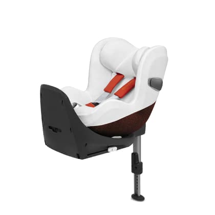 Cybex 賽佰斯鉑霆系列夏季椅套適用於Sirona Z i-Size兒童汽座 -  * The Cybex summer cover is perfectly suitable in warm weather. It matches ideally with the child car seat Sirona Z i-Size and prevents your little one from breaking a sweat too quickly.