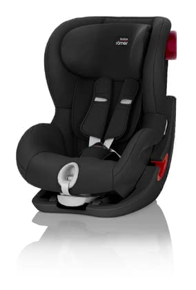 Britax Römer寶得適兒童安全座椅King II – Black Series 黑色系列 -  * The Britax Römer child car seat King II is suitable for your little explorer at the age of 9 months up to 4 years. It features a built-in side and frontal impact protection which provide your child with a high level of safety during every ride in your car.