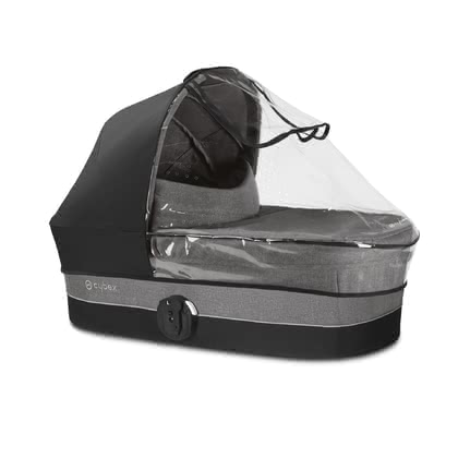 Cybex防雨罩 適用於嬰兒睡籃Cots -  * This rain cover is the ideal companion that matches perfectly with your Cybex carrycot Cot S and protects your little one in wind and rain.