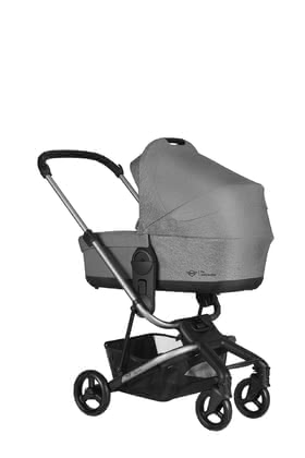 MINI by Easywalker兒童推車睡籃 適用於 Charley -  * The carrycot for the Charley transforms your stylish buggy into a full stroller. That way, you can explore both the city and the country with your baby right from the very first day.