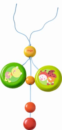 "Haba 哈巴 小挂件 小朋友 -  * The Haba dangling figure ""Little Friends"" promotes your child's fine motor skills in a playful way."
