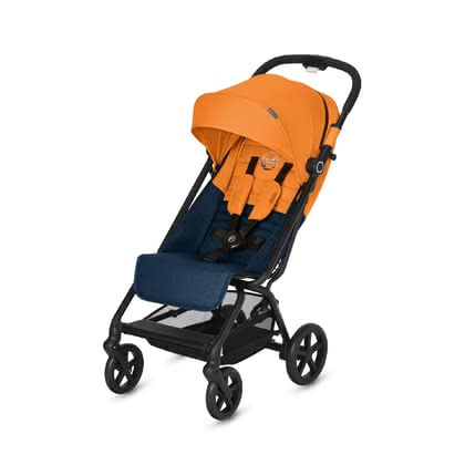 Cybex Buggy Eezy S+ -  * The compact Cybex buggy Eezy S+ features all-terrain wheels as well as all-wheel suspension that contribute to easy manoeuvrability even on uneven terrain.