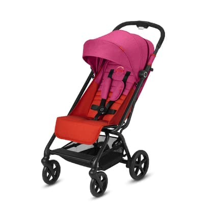 Cybex輕便嬰兒傘車Eezy  S+Plus -  * The compact Cybex buggy Eezy S+plus features all-terrain wheels as well as all-wheel suspension that contribute to easy manoeuvrability even on uneven terrain.