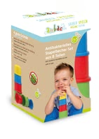 anbac堆疊杯玩具 -  * The 8-piece stackable-cup set by anbac provides your little explorer with numerous possibilities to play.