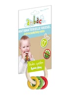 anbac趣味抗菌搖環 -  * Feeling, grabbing, rattling – a baby rattle with many different play options.