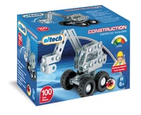 eitech 金屬套件拼裝益智玩具 迷你小型挖掘機 -  * With the eitech Metal Building Kit Mini-Digger your little builder can construct another vehicle perfect for complementing the mini-construction site in the nursery.