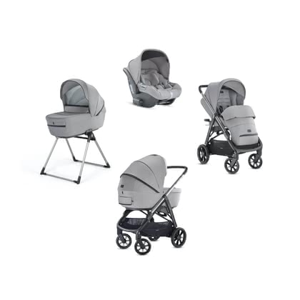 Inglesina 兒童推車 Aptica System Quattro 包含嬰兒提籃CAB -  * The distinctive glamorous style of this pushchair will delight trend-conscious and modern parents immediately. The Aptica is not only a sporty companion, it also scores with convenient handling and plenty of comfort for your tiny human.
