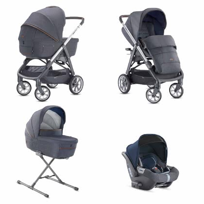 Inglesina英吉利娜 兒童推車系統 Aptica System Quattro -  * The distinctive glamorous style of this pushchair will delight trend-conscious and modern parents immediately. The Aptica is not only a sporty companion, it also scores with convenient handling and plenty of comfort for your tiny human.