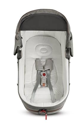 Inglesina Auto Kit汽車外出專用保護配件適用於嬰兒睡籃Aptica -  * For ensuring that your child can travel safely in the car, the Inglesina Auto Kit is essential. With this optional accessory, you can transport your little one safely in the carrycot Aptica on the back seat of your car.
