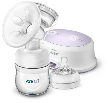 飛利浦AVENT Philips電動單邊吸奶器Ultra Comfort -  * The very quiet Avent Philips Electric Breast Pump Ultra Comfort ensures a discrete and effective way of expressing breast milk at any time and at any place.
