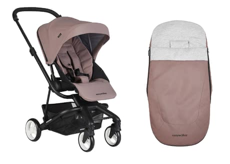 Easywalker兒童推車Charley配有防風保暖腳袋 -  * With the Easywalker Set that contains the buggy Charley and the matching footmuff, you are well equipped at all times.