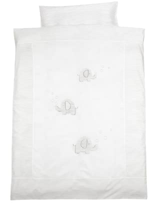Alvi® 床上用品-100 x 135 cm -  * This adorable bed linen by Alvi will make your little one sleep heavenly.
