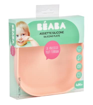Béaba 寶寶輔食碗 硅膠材質 -  * Béaba's adorable tableware impresses everyone with its trendy pastel colours – trend-conscious parents rely on clear lines and are convinced by many super convenient features.