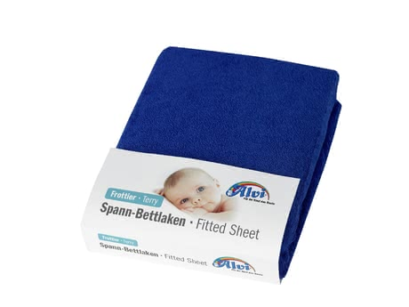 Alvi床罩Frottee-Stretch適用於兒童床 -  * The Alvi fitted sheet is perfectly suitable for being used in cots.