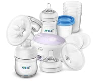 飛利浦AVENT Philips Naturnah電動吸奶器組合裝 -  * The Avent single breast pump set provides you with everything you need for effective expression, safe storage and natural feeding of breast milk.