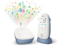飛利浦AVENT Philips寶寶看護器監視器SCD735/26带有星空投影功能 -  * With the Philips Avent DECT Baby Monitor SCD735 / 26, you can enjoy a private, interference-free and crystal-clear connection to your little one.