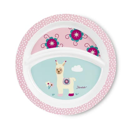 Sterntaler 盤子 -  * The Sterntaler plate is printed with a cheerful motif of the current characters and encourages your little one when learning how to eat independently.