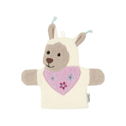 Sterntaler 玩偶洗澡巾 -  * The adorable Sterntaler washing mitt that comes in a cute hand puppet design will convince even little bathing sceptics.