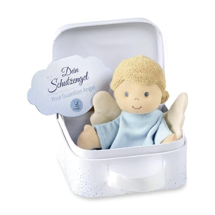 Sterntaler守護天使 玩偶巾 -  * The Sterntaler guardian angel accompanies your little one right from the very first day. The soft cuddly blanket is perfect for cuddling, consoling or falling asleep.