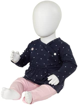noppies嬰兒套裝2件套 褲子和上衣,女孩 -  * This perfectly matched 2-piece clothing set is ideal to dress up your little princess. No matter if you prefer dots or hearts, both sets will delight your little girl immediately.