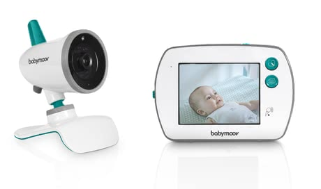 Babymoov寶寶監聽器帶視頻 觸摸屏YOO-Feel -  * With the Babymoov YOO-Feel Video Baby Monitor, you can keep an eye on your little one right from the very first day.