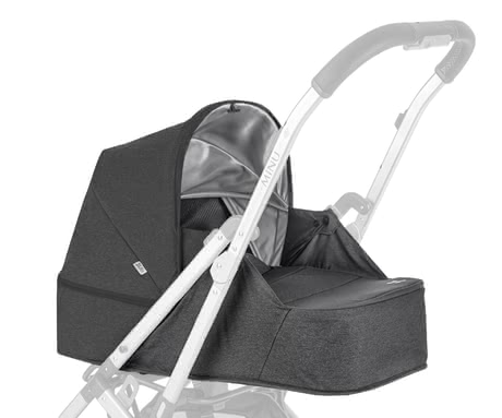 Uppababy新生兒睡籃 適用於推車MINU -  * The Uppababy newborn set transforms the compact MINU into a pram suitable for babies. Your little one will feel super comfortable on the flat lying surface and will enjoy every ride in the MINU from the first day of life up to a body weight of about 9 kg.