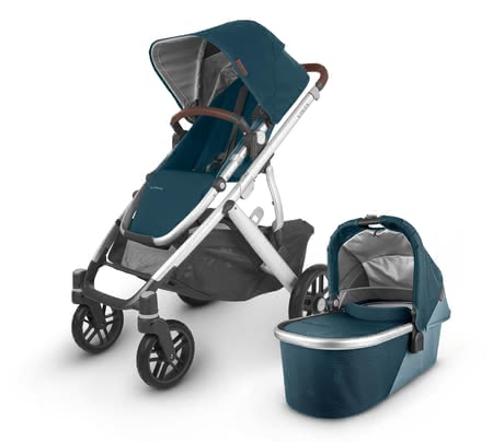 UPPAbaby嬰兒推車VISTA V2 -  * ✓ Luxury stroller for demanding parents ✓ first-class equipment ✓ multifunctional travel system ✓ suitable for 1, 2 or 3 children