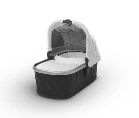 Uppababy VISTA兒童推車睡籃 -  * Will you soon have a new member to your family or are you even expecting twins? The you can easily expand your VISTA and provide your little one with a sleeping place in the comfy carrycot.