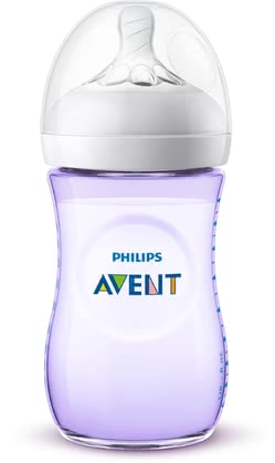 Philips AVENT飛利浦新安怡奶瓶Naturnah 2.0 柔和顏色瓶身 -  * The Avent Natural 2.0 baby bottle in subtle pastel colours adds a fresh and exciting touch to your baby bottle collection. Equipped with the new, soft teat with a flexible spiral design, you can now feed your baby in a much more natural way.