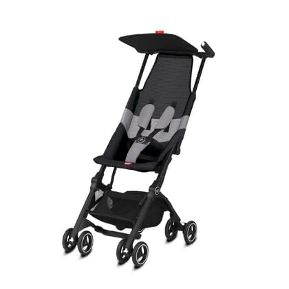 gb by Cybex Pockit  All Terrain兒童手扶車 Velvet Black_black 2021 - 大圖像