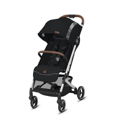 gb by Cybex Qbit+ All-City兒童手扶車 Fashion Edition Velvet Black 2020 - 大圖像