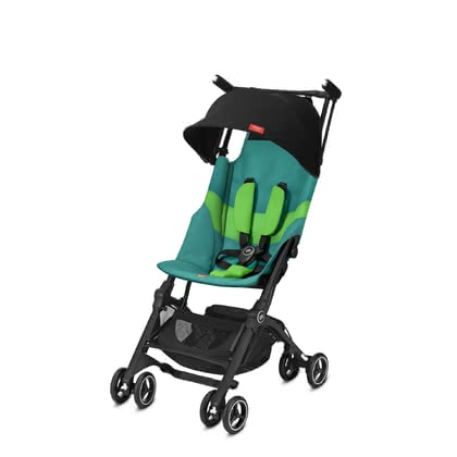gb by Cybex 嬰兒輕便推車 Pockit + All Terrain Laguna Blue_turquoise 2020 - 大圖像
