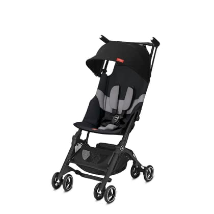 gb by Cybex 嬰兒輕便推車 Pockit + All Terrain Velvet Black_black 2020 - 大圖像